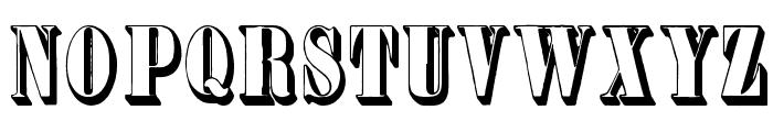 Plastische Plakat-Antiqua Font UPPERCASE