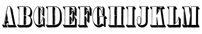 PlastischePlakat-Antiqua Font UPPERCASE