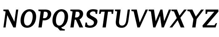 PlatanBG-BoldItalic Font UPPERCASE