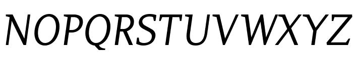 PlatanBG-Italic Font UPPERCASE