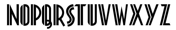 Platonick NF Font UPPERCASE