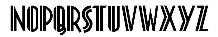 Platonick-Normal Font UPPERCASE