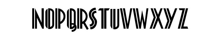 Platonick-Normal Font LOWERCASE
