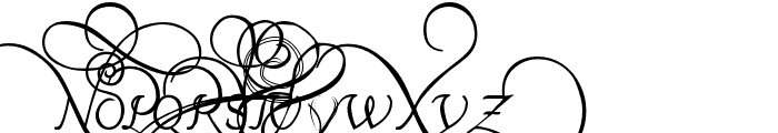 Platthand Demo Font UPPERCASE