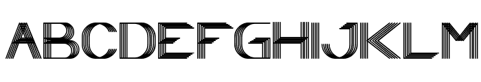 Play Ground Font UPPERCASE