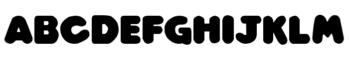 Play time Italic Font UPPERCASE