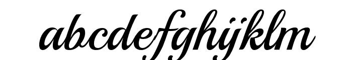 Playball Font LOWERCASE