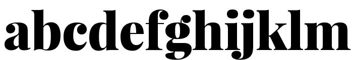 Playfair Display Black Font LOWERCASE