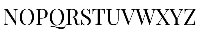 Playfair Display Regular Font UPPERCASE