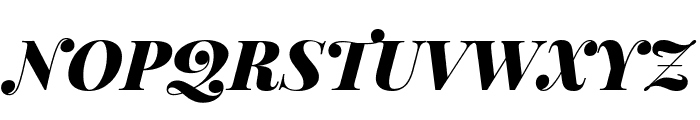 Playfair Display SC Black Italic Font UPPERCASE