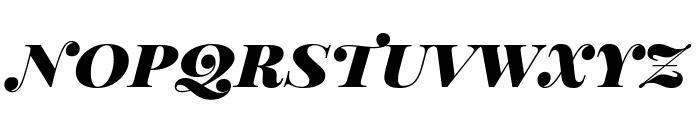 Playfair Display SC Black Italic Font LOWERCASE