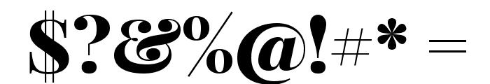 Playfair Display SC Black Font OTHER CHARS