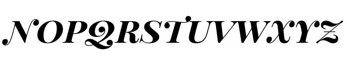 Playfair Display SC Bold Italic Font LOWERCASE