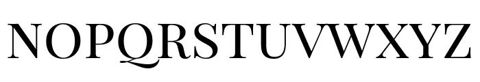 Playfair Display SC Regular Font LOWERCASE