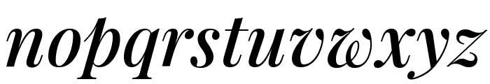 Playfair Display SemiBold Italic Font LOWERCASE