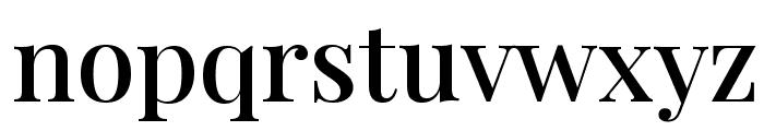 Playfair Display SemiBold Font LOWERCASE