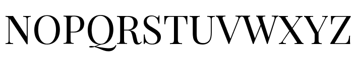Playfair Display Font UPPERCASE
