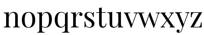 Playfair Display Font LOWERCASE
