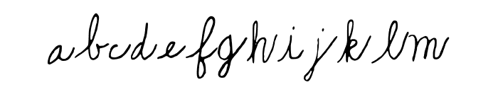Playful_Puppies Font LOWERCASE