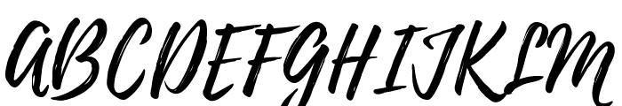 Playlist-Script Font UPPERCASE