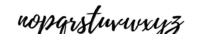 Playlist-Script Font LOWERCASE