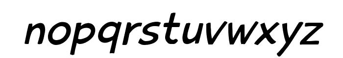 PlaytimeWithHotToddiesOblique Font LOWERCASE