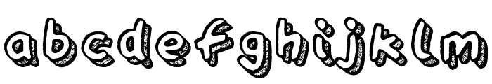 Playtime Font LOWERCASE