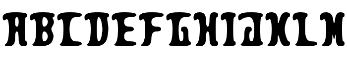 Pleasant Despair Font LOWERCASE