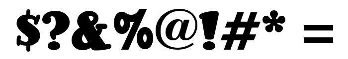 Pleasingly Plump NF Font OTHER CHARS