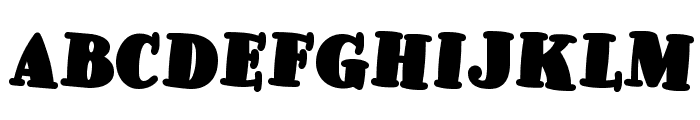 Pleasingly Plump NF Font LOWERCASE