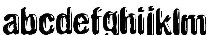 Plekkmees2 Font LOWERCASE