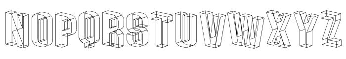 Plexifont BV Font LOWERCASE