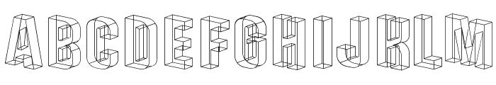 Plexifont Font UPPERCASE