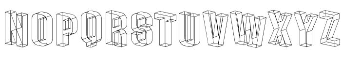 Plexifont Font LOWERCASE
