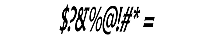 Pliskin Snake-Eyes-Italic Font OTHER CHARS