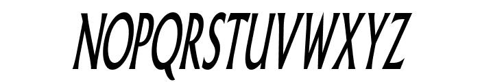 Pliskin Snake-Eyes-Italic Font UPPERCASE