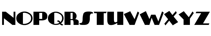 Plug-NickelBlack Font UPPERCASE