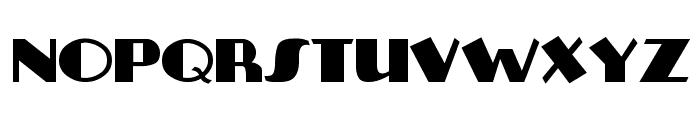 Plug-NickelBlack Font LOWERCASE