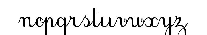 PlumBAE Font LOWERCASE