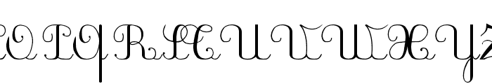 PlumBAL Font UPPERCASE