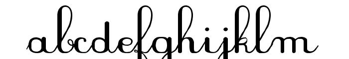 PlumBAL Font LOWERCASE