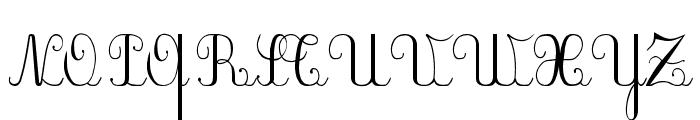 PlumBDE Font UPPERCASE