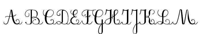 PlumBDL Font UPPERCASE