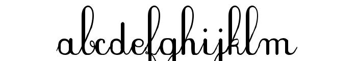 PlumNAE Font LOWERCASE