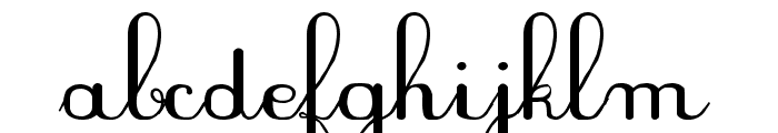 PlumNAL Font LOWERCASE