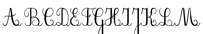 PlumNDE Font UPPERCASE