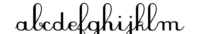 PlumNDL Font LOWERCASE