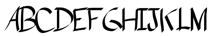 PlumePLUME Font UPPERCASE