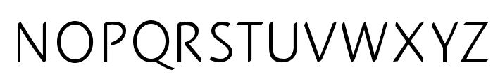 PlumeriaSans Font UPPERCASE
