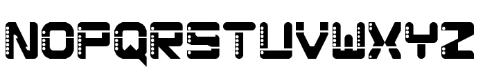 Pluto 0 Regular Font UPPERCASE